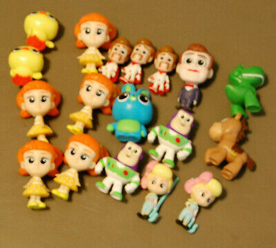 Disney TOY STORY 4 MINIS Series 1 Figurines (Fresh Out Of Package)