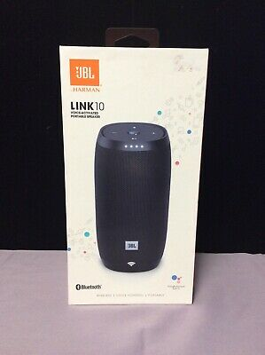 JBL Link 10 Voice activated portable speaker with google assistant NEW