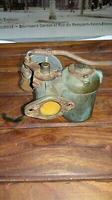 Carburateur Laiton Ancien Automobile Moto Tracteur Vintage Cycle