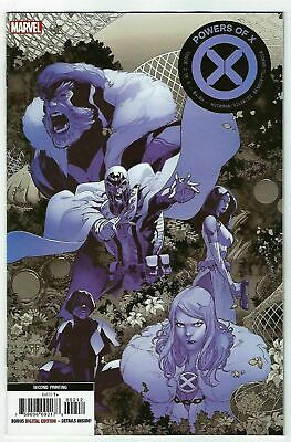 Powers of X  #2  Marvel 2019  2nd Print Variant  Hickman Cover A