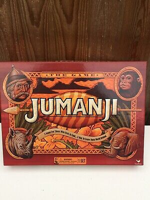 JUMANJI BOARD GAME - 100% Complete with Instructions Excellent Family Board Game
