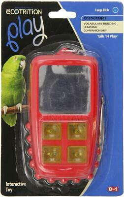 Jungle Talk Pet Products Play Phone Interactive Bird Toy, Large