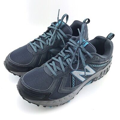 newest 55341 5c487 NEW BALANCE 410V5 Womens Size 10 All Terrain Trail Running Blue Shoes  WT410LO5