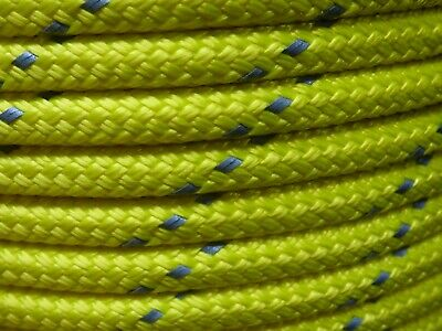 "3/8"" x 550 ft. Premium MFP Double Braid. Yellow/ with Reflective."