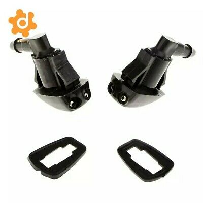 2PC Windshield Washer Nozzle Front 55079049AA 55079049 For Jeep Grand Cherokee