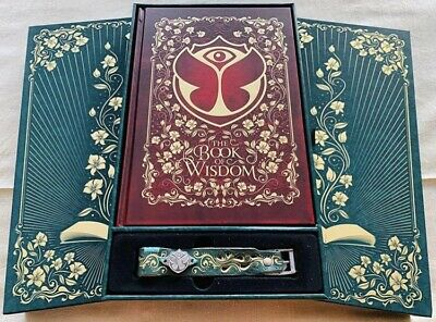 Tomorrowland - Treasure Case And Book- The Book Of Wisdom The Return