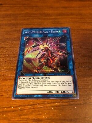 Sky Striker Ace - Kagari Prismatic Secret Rare MP19-EN257 NM/M Yugioh