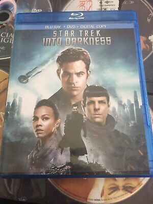 Star Trek Into Darkness Blu Ray With Free Shipping