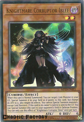 Yugioh MP19-EN011 Knightmare Corruptor Iblee Ultra Rare 1st Edition NM