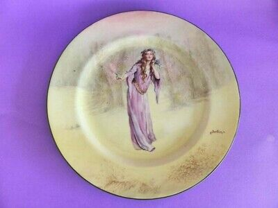 Royal Doulton Series Ware Ophelia Dinner Plate, Shakespeare Series Display Plate
