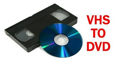 VHS mini DV and 8mm cassette conversion to DVD or USB