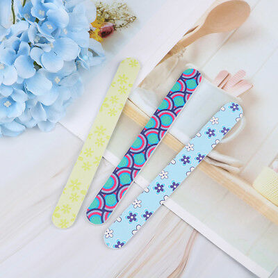 10x double-sided nail file practical premium durable emery board manicure fil!o