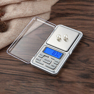 Electronic Digital Pocket Jewelry Scales High Precision Weighing 0.01g/0.1g-500g