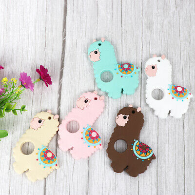 Alpaca Infant Baby Teether Silicone Pacifier Soother Teething Toy Massage Gums