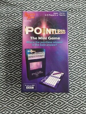 Pointless The Mini Game | New Edition | Travel Size | University Games