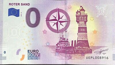 Billet 0 Euro Roter Sand France  2019-2  Numero Divers