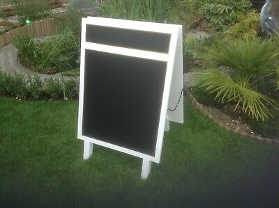 Chalkboard, pub, restaurant, shop, signage. Menu board, Double sided chalkboard.