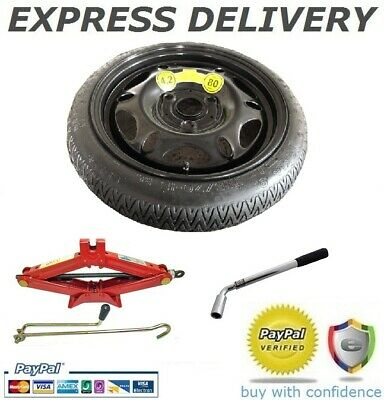 """Smart For Two Fortwo Space Saver Spare Wheel 15"""" + Tool Kit"""