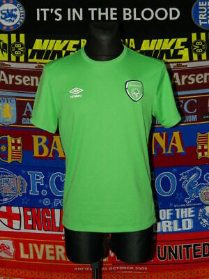 5/5 Ireland (Eire) adults M training leisure football shirt jersey trikot soccer