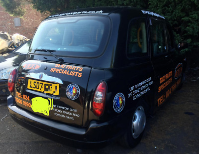London Taxi TX4 2007 07 Automatic Euro 4 COVENTRY PLATED