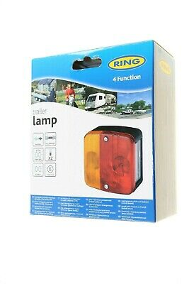 Ring 4 Function Trailer Lamp Rct450 Genuine Auto Car Parts Uk Supplier