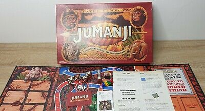 2018 Jumanji Board Game 100% Complete - Excellent Condition