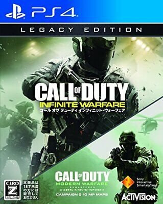 """Call of Duty Infinite Warfare Legacy Edition [CERO rating """"Z""""] - PS4 From Japan"""