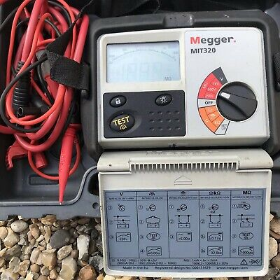 Megger MIT320 Insulation Tester Continuity Electrical Testers Voltage