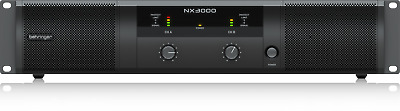 Behringer NX3000 3000-Watt Class-D Power Amplifier + Warranty
