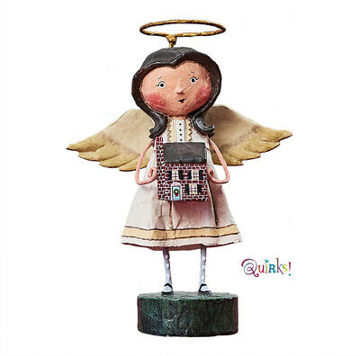 Angel of the Home Figurine by Lori Mitchell NIB Free Shipping