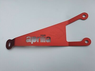 Exhaust Hanger for APRILIA RS125 - 1992 to 2005 - RS 125 - red anodized