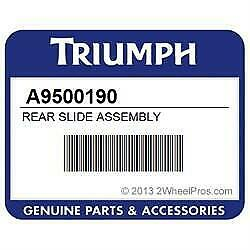 50% OFF Triumph Rear Slide Assembly