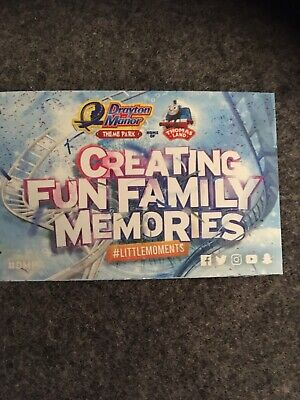 Drayton Manor Vouchers Valid Until 23/2/20 Lots Available Message Me