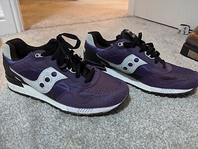 new style faad1 2dc36 SAUCONY SHADOW 5000 Vintage Trainers in PURPLE & WHITE