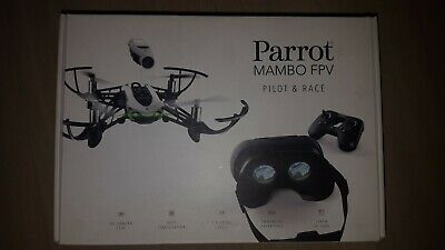 Drone parrot Mambo FPV + MiniDrone 3pack Lipo Batterie & Chargeur NEUF