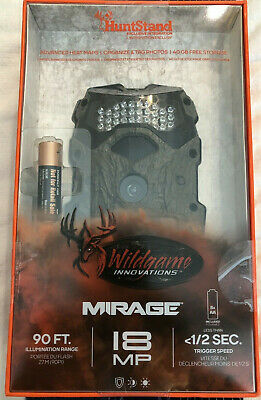 Wildgame Innovations Mirage 18mp Game Trail Camera w/HuntStand -New 616376511677
