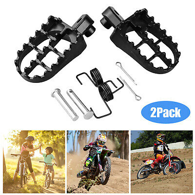 MagiDeal Footpegs Foot Pegs Mount Bracket for XR CRF 50 125 SDG SSR Pit Bike