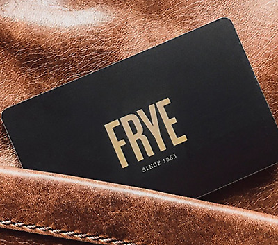 $400 Frye Company Gift Card - High End Leather Shoes/Goods