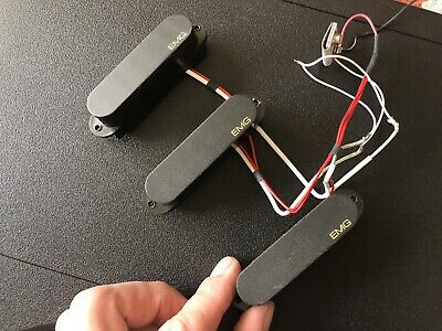 EMG PICKUP SET SA / SA / 81 U/W , White , Full Set , New Old