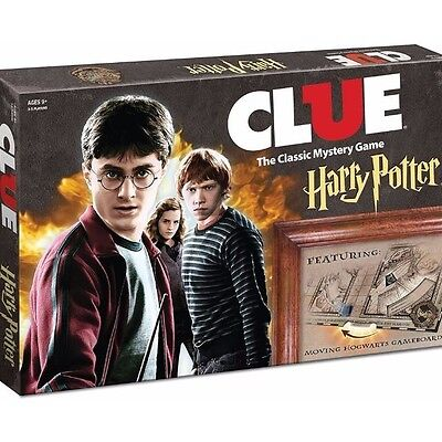 Harry Potter Clue Classic Board Game Favorite Mystery Game Ages 9 And Up-NEW
