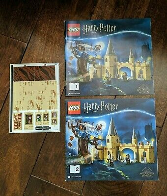 *NEW* LEGO 75953 Harry Potter - Whomping Willow - Instruction Manuals & Stickers