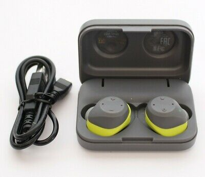 Jabra - Elite Sport True Wireless Earbud Headphones - Lime Green 100-98700000-02