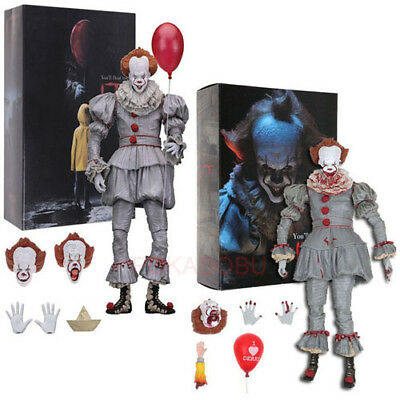 "IT Pennywise Clown 7.9"" Action Figure 1:12 Collectible Gift Stephen King Toy"