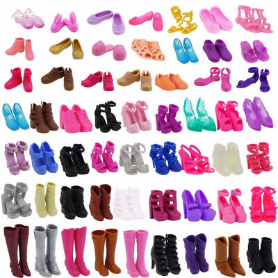 Barbie Doll Shoes Accessories High Heel Boots Sandal Children Gifts Good Quality