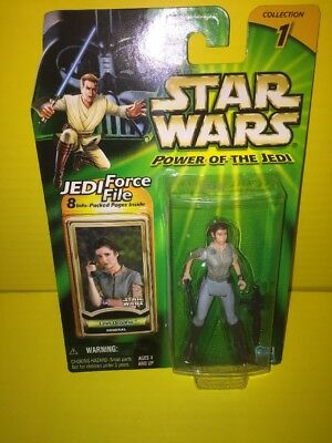 Hasbro 84642 Star Wars: Power of the Jedi Leia Organa (General) NEW MOC 2000