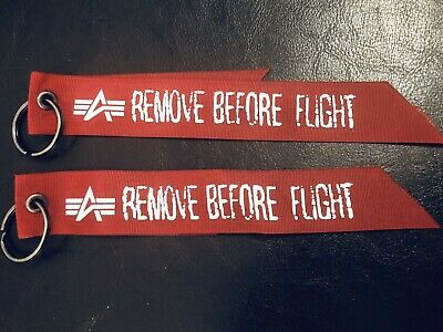 new concept 44229 42b98 ALPHA INDUSTRIES EASTPAK Remove Before Flight Hang Tag / Anhänger