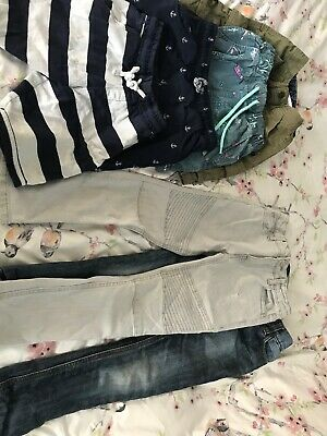 Boys Age 6 Shorts and Jeans Bundle From Next River Island And M&S