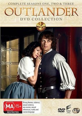 Outlander Seasons 1-3 Box Set DVD Region 4 | Brand New | 1 + 2 + 3 | FREE POSTAG