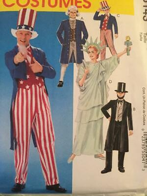 Tailcoat Breeches Frock Coat Hat Liberty McCall/'s 6143 Costume Sewing Pattern