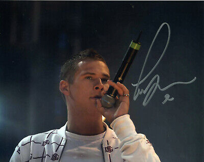 Lee Ryan SIGNED AUTOGRAPH AFTAL Blue AFTAL UACC RD